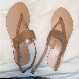 Sandals from forever21